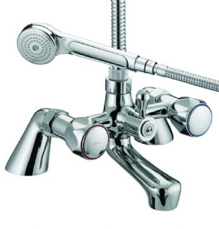 Bristan Club Pillar Bath Shower Mixer